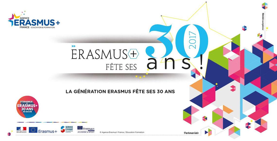 Les Erasmusdays Fetent Les 30 Ans D Erasmus Pole Emploi Pole